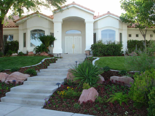Entryway Landscaping