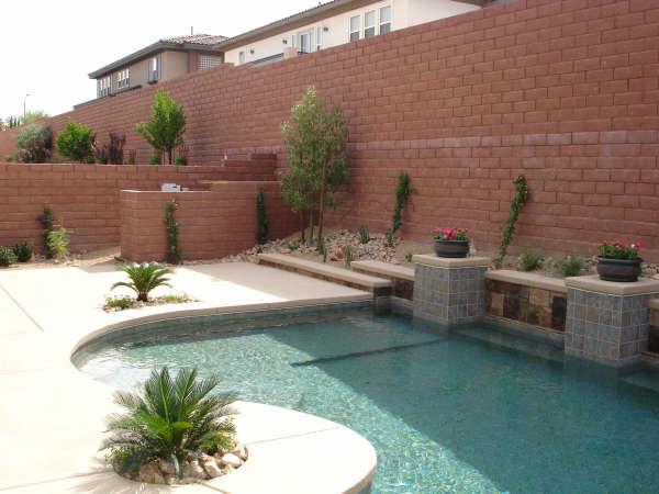 Las Vegas custom pool